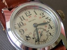 1940 Seiko Japanese Military Watch.  Now, THAT is cool.