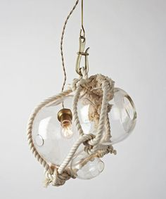 Knotty Bubbles pendant light by Lindsay Adelman for Roll & Hill (via Design Milk).