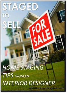 The book Home Selling Mastery has a full chapter dedicated to profit generating ideas on preparing your home to sell and staging your home to sell. You can download this Amazon Best Seller right now for just $4.82. Visit www.Amazon.com/dp/B00KOJ7KAA ...and start packing!