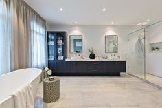 Spacious master ensuite in the Astor Grange with a Classic Hamptons World of Style.