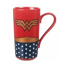 Wonder Woman Logo Mug Standard Amazon Kitchen & Home