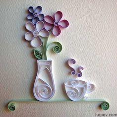 Kağıtlar İle Duvar Süslemeleri - http://hepev.com/kagitlar-ile-duvar-suslemeleri-6843/