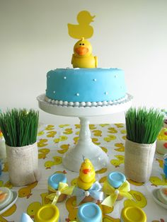 Festa do Patinho ( Baby Shower Duck) | I Love Valentina