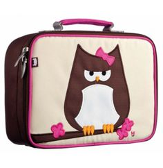 A friendly way to bring lunch with you thanks to Papar Owl Lunchbox from Beatrix NY. This insulated lunch box is a playful way to keep tuna Girls Lunch Boxes, Insulated Lunch Box, Cool Gear, Kids Boxing, Knitting For Kids, Cloth Bags, School Supplies, Coin Purse, Cool Stuff