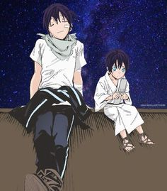 Noragami yato with young yato