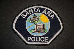 Santa Ana Police Patch, Orange County, California (Current 1998 Issue)