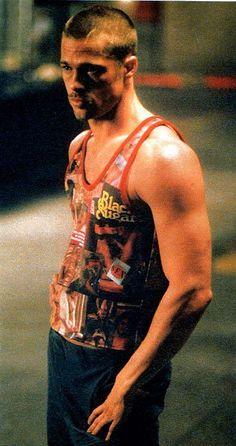 Brad Pitt Fight Club promo by Steven Klein - Google Search