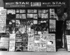 Nigel Henderson, Shop Front, Bethnal Green, Courtesy The Major Gallery, London. © The Henderson Estate Old London, Vintage London, East London, London Free, London History, British History, Old Photos, Vintage Photos, Vintage Photography