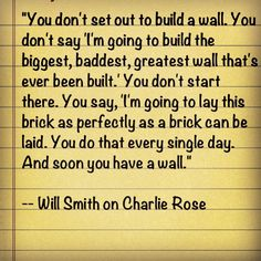 6. @AmethystMahoney asked what my favorite inspirational quote -   this Will smith quote is a perfect reminder in business.
