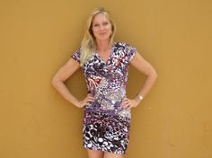 Womens Designer Casual Dress Sexy Mini Dress by africanbaskets, $59.00