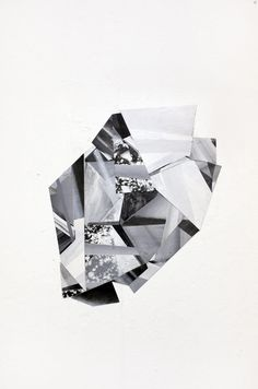 I actually own of Russel Leng's work. I find it stunning. Crystal Grid, Textures Patterns, Geometric Patterns, Cubism, Surface Pattern, Geometry, Contemporary Art, Black And White, Crystals