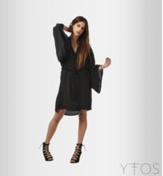 Black Kimono, Shirt Dress, T Shirt, Dresses, Fashion, Self, Shirtdress, Tee, Gowns