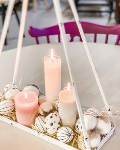Koti, Tea Lights, Easter, Decorations, Candles, House, Vintage, Home Decor, Decoration Home