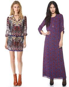 Bohemian Paisley Dresses