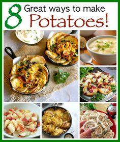 Potato Lovers Day (2/7/17) -- 8 Great ways to make potatoes! : dailyholidayblog