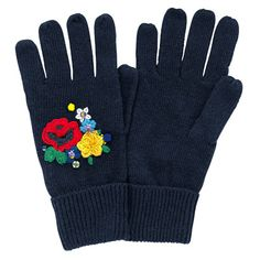 Woodland Rose Knitted Gloves   Cath Kidston   Perfect for the Christmas Day walk - work up an appetite for yummy Christmas dinner  #CKCrackingChristmas