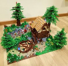 Explore arthur_cao's photos on Flickr. arthur_cao has uploaded 24 photos to Flickr. Lego Village, Amazing Lego Creations, Lego Castle, Lego Architecture, Lego Projects, Everything Is Awesome, Lego Moc, Legos, Dungeons And Dragons