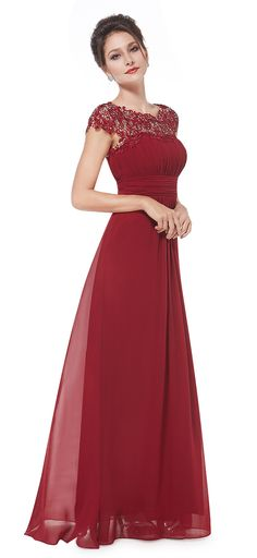 Burgundy Lacey Neckline Open Back Ruched Bust Evening Dress long,Prom Dress long,Party Dress long,Evening Dress Dress Lace Evening Dress Long, Evening Dresses, Prom Dresses, Formal Dresses, Wedding Dresses, Wedding Shoes, Wedding Bridesmaids, Long Party Dresses, Elegant Dresses