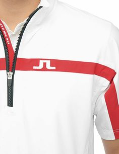 J Lindeberg Official Store, M Swing Tee JL 2,5-Ply, white, Golf Outerwear, 36MG372620490