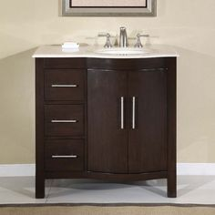 Lovely Single Bathroom Vanity Cabinets
