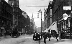 Buchanan Street Glasgow sepia RP old postcard used 1912 by Judges 1901 Old Pictures, Old Photos, Buchanan Street, Glasgow Scotland, Places Of Interest, Old Postcards, British History, Best Cities, Past