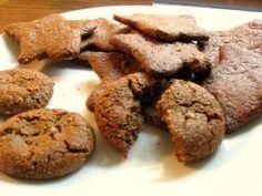 GF Vegan Ginger Spice Molasses Cookies