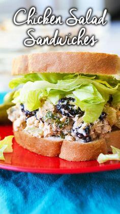 Bok Choy Salad, Edamame Salad, Chicken Salad Recipes, Chicken Egg Salad, Chicken Ham, Chicken Burritos, Canned Chicken, Chicken Sandwich, Rotisserie Chicken