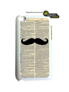 Mustache iPod Touch Case  iPod Touch 4G Case  by KeepCalmCaseOn, $15.00