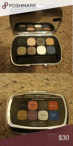 Bare minerals eyeshadow pallette Lightly used eight shadow pallette. Very pretty colors I just haven't used it in forever so it probably deserves a new home at this point XD Makeup Eyeshadow