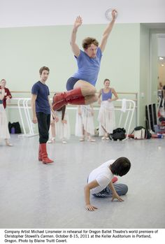 OBT Carmen Rehearsal   by Oregon Ballet Theatre
