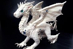 Aithusa White Dragon by AstridMakosla.deviantart.com on @deviantART