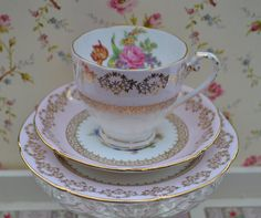 Royal Grafton Vintage China Trio Tea Cup by ImagineHowCharming
