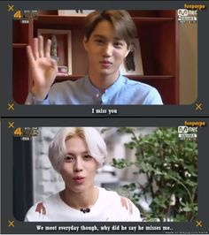kekeke well Kai oppa just misses you Taemin oppa~ there is no problem with that~ keke but i ship TaeKai though~