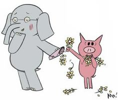 Elephant & Piggy Series by Mo Willems