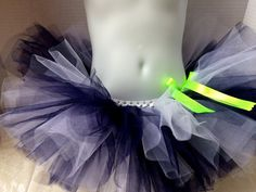 NFL Seattle Seahawks inspired Football tutu by ShellyRioBoutique, $27.00