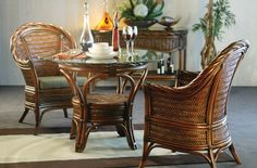 Casual, Contemporary and Conventional Outdoor Furniture Indoor Wicker Furniture, Monte Carlo, Dining Table, Cushions, Contemporary, Chair, Classic, Floral, Home Decor
