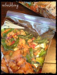 10 Crock Pot Freezer Meals - Refresh Living