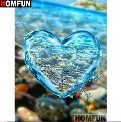 DIY Diamond Painting Kits for Adults Full Drill Embroidery Pictures Arts Crafts for Home Wall Decor Water Drop Heart 1 by Loxfir Ocean Wallpaper, Heart Wallpaper, Cute Wallpaper Backgrounds, Love Wallpaper, Pretty Wallpapers, Galaxy Wallpaper, Glitter Wallpaper, Iphone Wallpapers, Love Heart Images