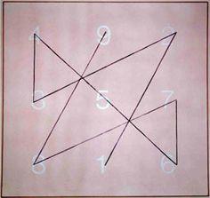 Sigmar Polke, Magic Squares I (Saturn), 1992