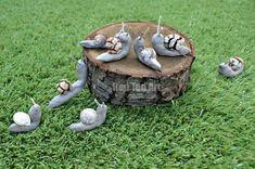 Snail Crafts for preschoolers