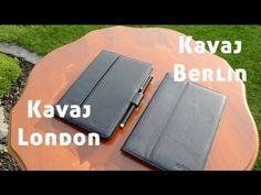 Review: Kavaj Berlin & London iPad Mini Taschen - YouTube