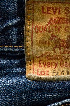Levis label by Earl Carter