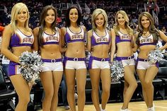 When you go to a NBA game nowadays it's not just all about what's happening on the court, but more to do with the full atmosphere during the event, and this includes. yup you guessed it, Cheerleaders. Over the past years cheerleading has become Jerry Buss, Cheerleading, Lakers Girls, Ice Girls, Bend Over, Phoenix Suns, Top Celebrities, Los Angeles Lakers, My Beauty
