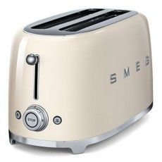 2 slice Smeg pastel green toaster has a curved & compact design. A retro mint green toaster that can be matched with a range of Smeg appliances. Smeg Toaster, Retro Toaster, Vintage Toaster, Toaster Ovens, Domestic Appliances, Specialty Appliances, Small Kitchen Appliances, Kitchen Gadgets, Toaster