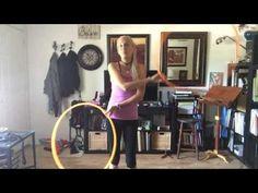 Twin hoop tutorial: crossers aka hug weave - YouTube