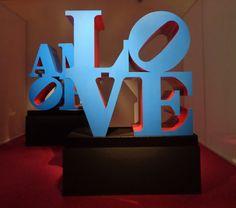 Love di Robert Indiana in mostra a Milano https://lefotodiluisella.blogspot.it/2017/04/love-mostra-milano.html