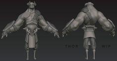 Thor by ~DuncanFraser on deviantART