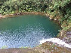 Cachoeira Lagoa Azul/Paraíso - Cubatão - São Paulo - Brazil
