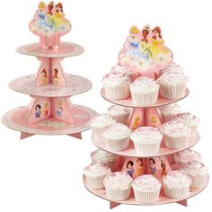 Wilton Disney Princess Cupcake Treat Stand Holds 24 Cupcakes | eBay