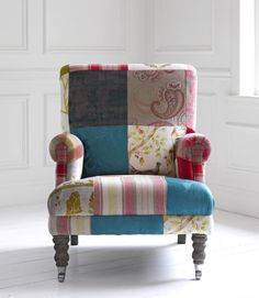 Something Different - Highlands Jewel Patchwork Chair